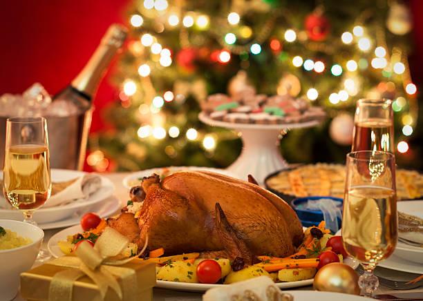 Christmas Turkey Dinner:スマホ壁紙(壁紙.com)
