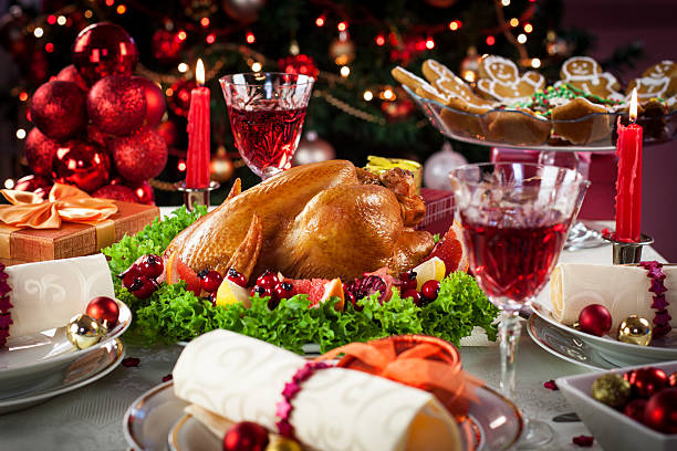 Christmas Turkey Dinner:スマホ壁紙(壁紙.com)