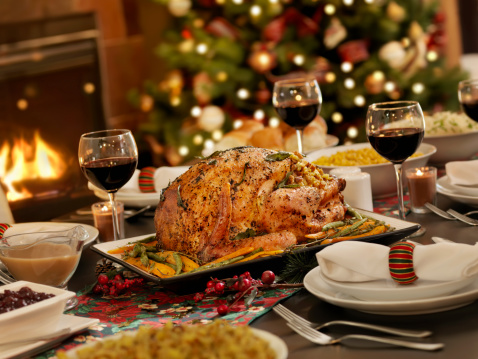 Square Plate「Christmas Turkey Dinner」:スマホ壁紙(12)