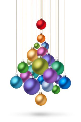 記念日「クリスマスクリスマスツリー」:スマホ壁紙(1)