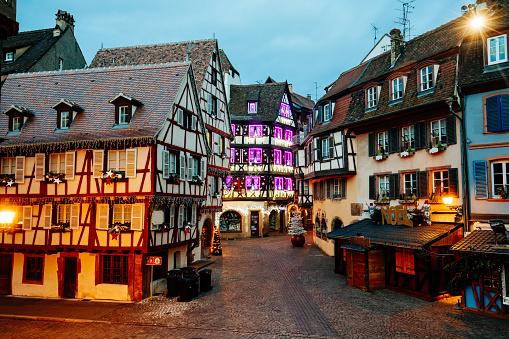 Voting Ballot「Christmas time in Colmar, Alsace, France」:スマホ壁紙(1)