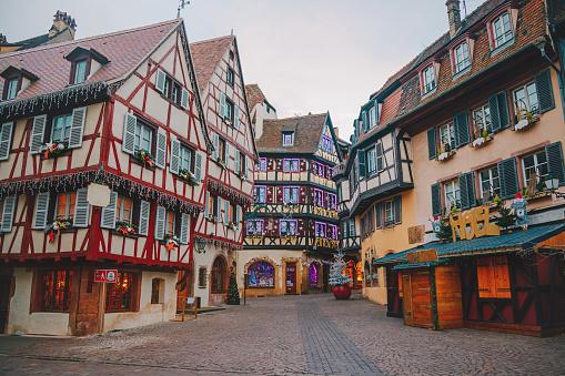 Fairy Tale「Christmas time in Colmar, Alsace, France」:スマホ壁紙(18)