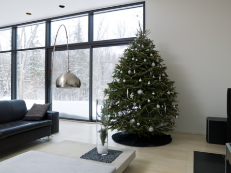 Annual Event「Christmas tree in living room」:スマホ壁紙(4)