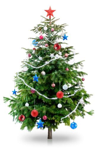 雪「クリスマスクリスマスツリー」:スマホ壁紙(8)