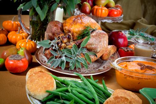 Biscuit「Christmas & Thanksgiving Holiday Roast Turkey Dinner」:スマホ壁紙(5)