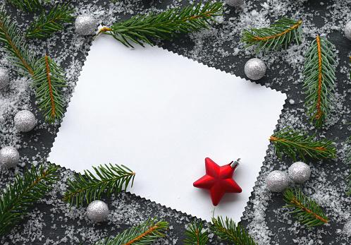 Blinking「Christmas tree and Christmas decoration」:スマホ壁紙(11)