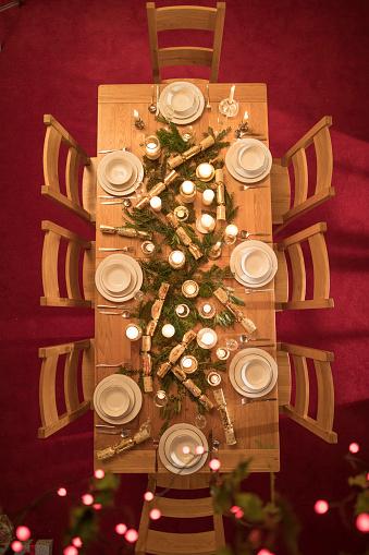Decoration「クリスマステーブル」:スマホ壁紙(12)