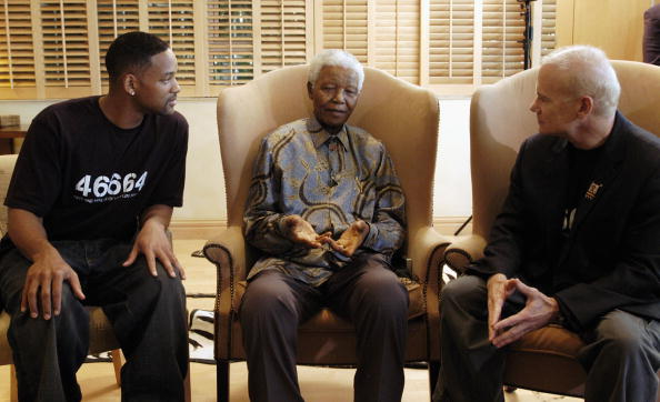 The Way Forward「Will Smith And MTV's Bill Roedy Meet Nelson Mandella In Johannesburg」:写真・画像(17)[壁紙.com]