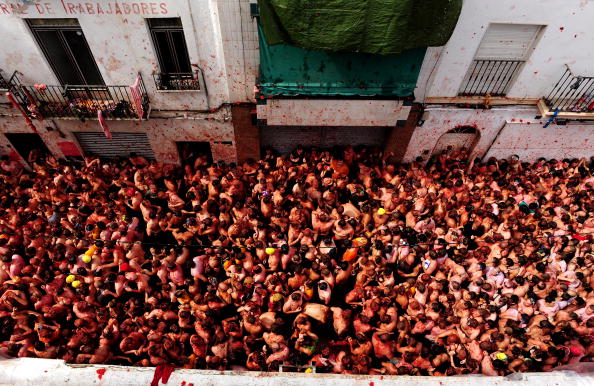 キャラクター「The World's Biggest Tomato Fight At Tomatina Festival」:写真・画像(5)[壁紙.com]