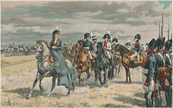 Prussia「Queen Louisa Reviewing The Prussian Army」:写真・画像(19)[壁紙.com]