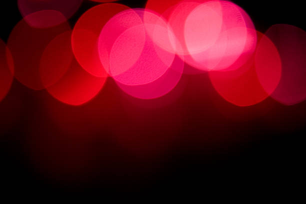 Red and Pink Blurred Bokeh Lights at Top of Background:スマホ壁紙(壁紙.com)