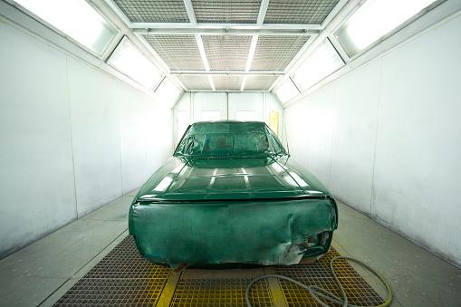 Spraying「Car Paint Booth」:スマホ壁紙(3)