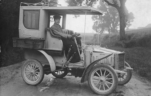 Edwardian Style「1903 White Steam Car. Creator: Unknown.」:写真・画像(11)[壁紙.com]