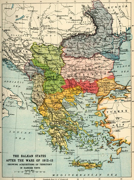 20th Century「The Balkan States After The Wars Of 1912-13」:写真・画像(18)[壁紙.com]