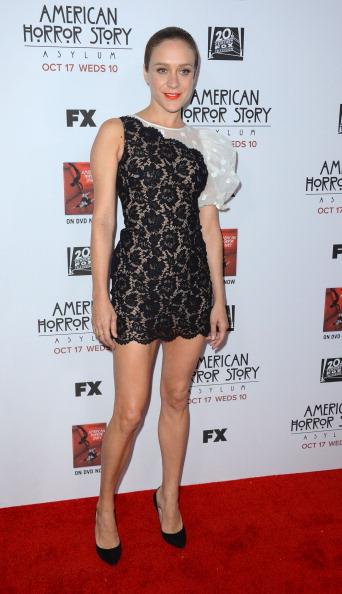 "Scalloped - Pattern「Premiere Screening Of FX's ""American Horror Story: Asylum"" - Arrivals」:写真・画像(0)[壁紙.com]"
