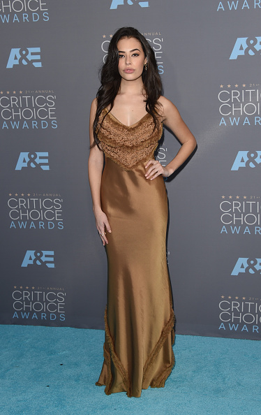 Metallic Dress「The 21st Annual Critics' Choice Awards - Arrivals」:写真・画像(7)[壁紙.com]