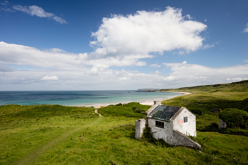 Hostel「Northern Ireland, Country Antrim, White Park Bay.」:スマホ壁紙(4)