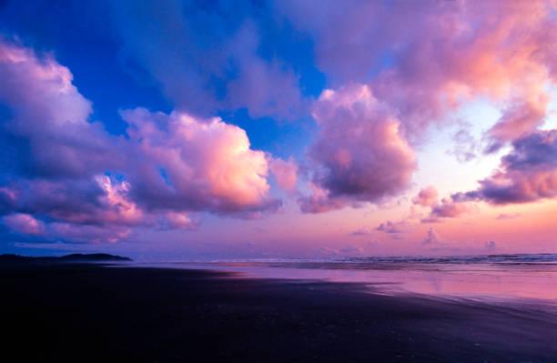 Long Beach at dusk - Pacific Rim National Park Reserve, British Columbia, Canada:スマホ壁紙(壁紙.com)