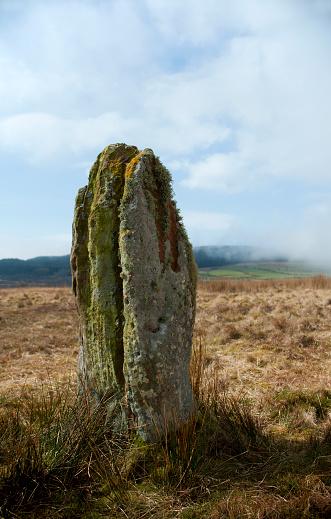アーラン島「Machrie Moor Standing Stones」:スマホ壁紙(5)