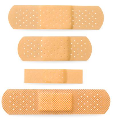 Adhesive Bandage「Bandaid Four Size」:スマホ壁紙(4)