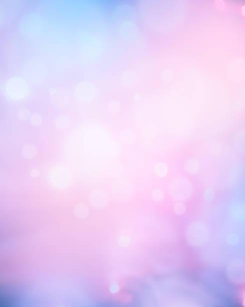 輝くブルーとピンクの抽象的な背景:スマホ壁紙(壁紙.com)