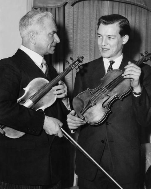 Violin「Zlatko Balokovic And Alexander Gibson」:写真・画像(12)[壁紙.com]