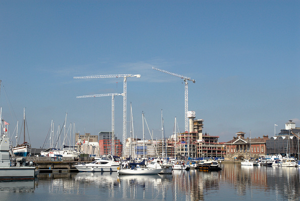 Copy Space「Ipswich marina and docks development, United Kingdom」:写真・画像(7)[壁紙.com]