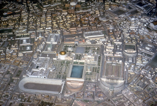 Model - Object「Model of Rome in the Imperial Period.」:写真・画像(2)[壁紙.com]