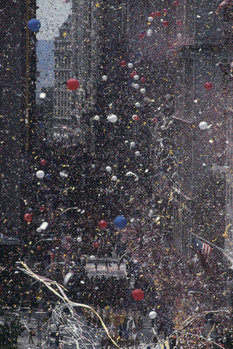 Annual Event「Ticker tape parade , New York City」:スマホ壁紙(3)