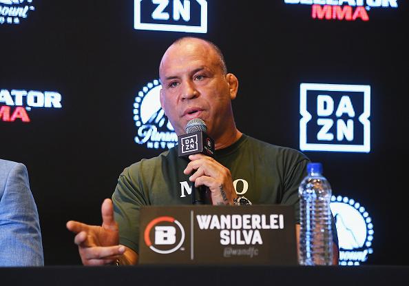 Wanderlei Silva「Bellator-DAZN Announcement Press Conference」:写真・画像(7)[壁紙.com]