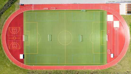 Sports Training「Sports fields - aerial view」:スマホ壁紙(17)