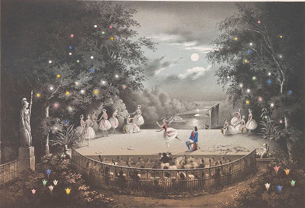 Fisherman「The Ballet Naiad And Fisherman By C. Pugni In The Pink Pavilion」:写真・画像(5)[壁紙.com]