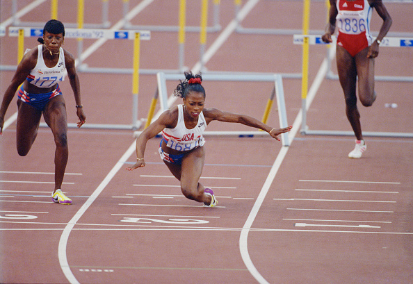 100 Meter「XXV Olympic Summer Games」:写真・画像(4)[壁紙.com]