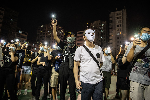 Forbidden「Anti-Government Protests Continue in Hong Kong」:写真・画像(11)[壁紙.com]