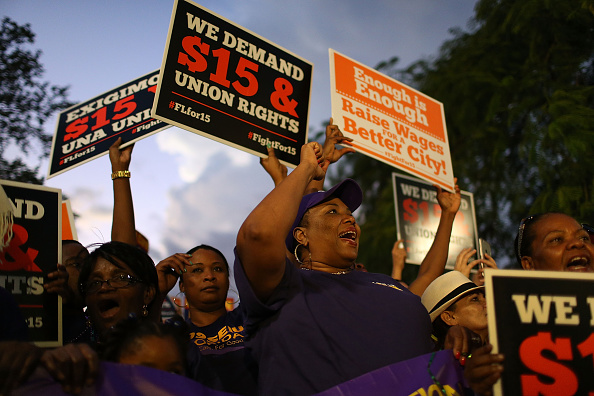 Florida - US State「Protestors Rally Across US On National Day Of Action For $15 Minimum Wage」:写真・画像(15)[壁紙.com]