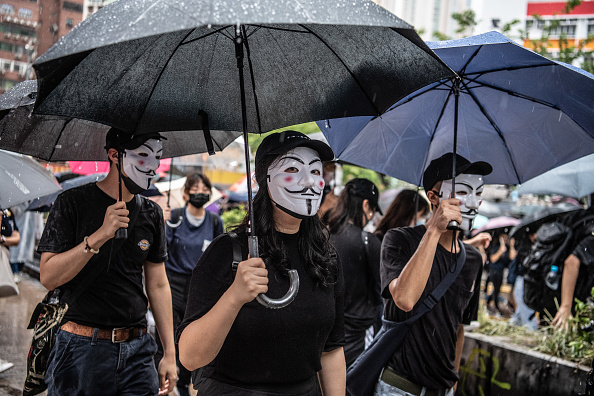 Forbidden「Anti-Government Protests Continue in Hong Kong」:写真・画像(10)[壁紙.com]