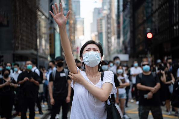 Protest「Anti-Government Protests Continue in Hong Kong」:写真・画像(12)[壁紙.com]