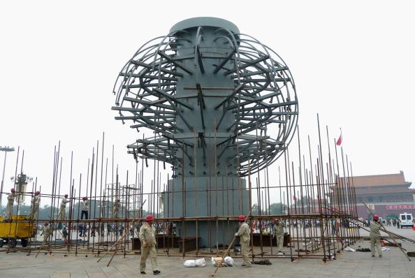 50 Meter「Tiananmen Square Prepares For China's National Day」:写真・画像(8)[壁紙.com]