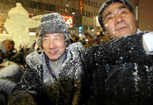 Mombetsu Ice Festival「Koizumi Visits Sapporo Snow Festival」:写真・画像(18)[壁紙.com]