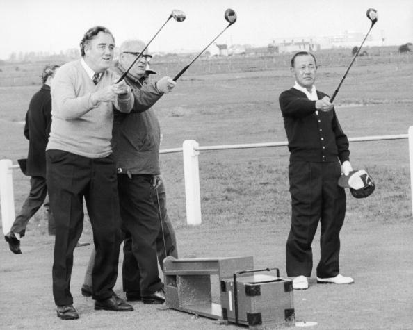 Politician「Golf At Sandwich」:写真・画像(14)[壁紙.com]