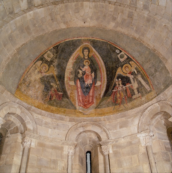 Ceiling「The Virgin And Child In Majesty And The Adoration Of The Magi」:写真・画像(6)[壁紙.com]