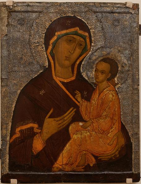 Religious Icon「The Virgin Of Tikhvin 16th Century」:写真・画像(1)[壁紙.com]