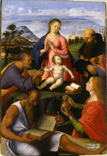 New Testament「The Virgin And Child With Saints」:写真・画像(19)[壁紙.com]