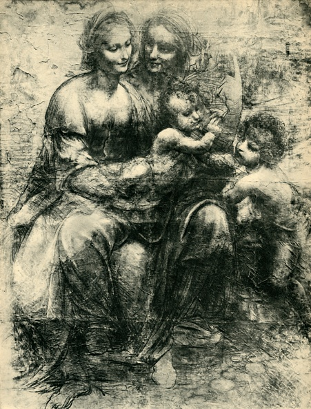 Parent「The Virgin And Child With St Anne And St John The Baptist」:写真・画像(4)[壁紙.com]