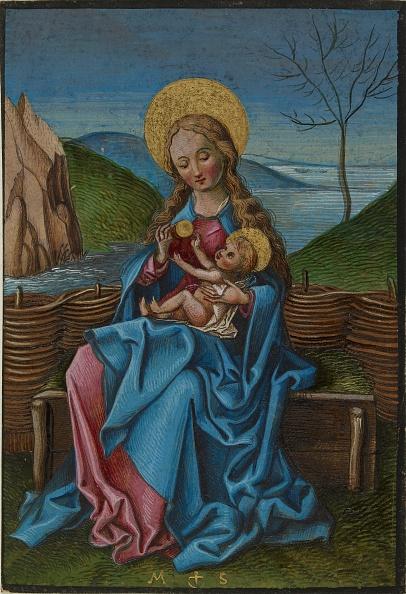 イネ科「The Virgin And Child On A Grassy Bench」:写真・画像(8)[壁紙.com]