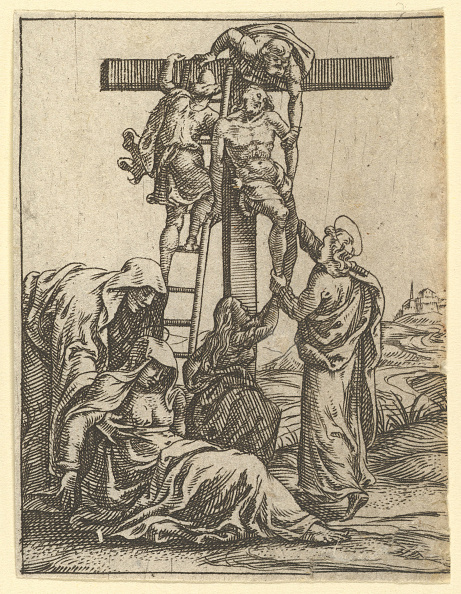 Storage Compartment「The Virgin Of Sorrows: The Descent From The Cross; One Of Nine Surrounding Compartments」:写真・画像(2)[壁紙.com]