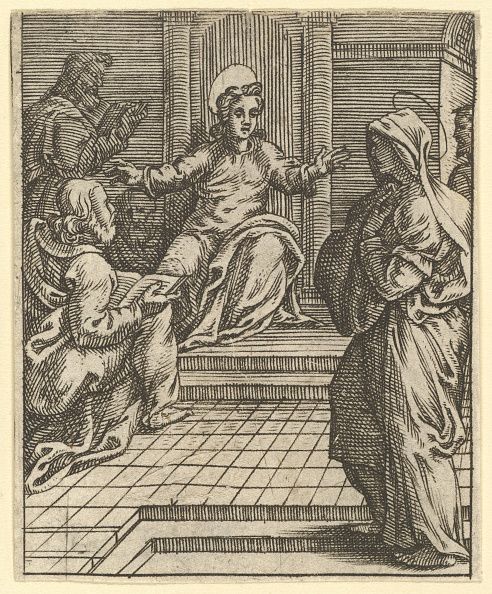 Storage Compartment「The Virgin Of Sorrows: Christ Disputing With The Doctors; One Of Nine Surrounding Compa」:写真・画像(7)[壁紙.com]
