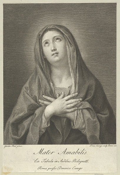 Looking Up「The Virgin Looking Upwards With Hands Crossed Over Her Chest」:写真・画像(17)[壁紙.com]