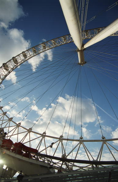 Amusement Park Ride「Underneath The London Eye」:写真・画像(0)[壁紙.com]