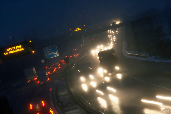 Headlight「M11 motorway at night, Cambridgeshire」:写真・画像(8)[壁紙.com]